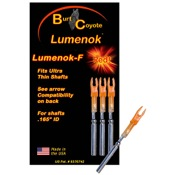 Burt Coyote Lumenok - 3/pk., F, 3/pk., Red, Easton G