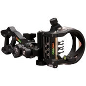 "TruGlo Rival FX 5 Sight w/Light, Black, 5 Pin .019"", RH/LH"