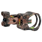 "TruGlo Carbon XS Sight w/Light, Realtree AP Extra, 4 Pin .019"", RH/LH"