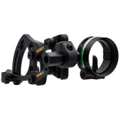 "TruGlo Range Rover AC 1-Pin Sight, Black, 1 Pin .019"", RH/LH"