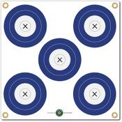 """Arrowmat Foam Rubber Target Face - 5 Spot, 17""""x17"""""""