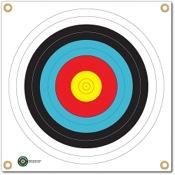"""Arrowmat Foam Rubber Target Face - 4 Color Round, 17""""x17"""""""