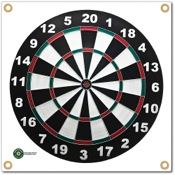 """Arrowmat Foam Rubber Target Face - Dartboard, 17""""x17"""""""
