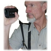 Crooked Horn Bino-Rangefinder Harness System, Black