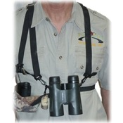 Crooked Horn Bino-Rangefinder Harness System, Camo