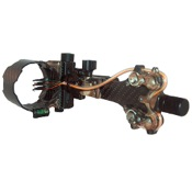 AXT Carbon Carnivore Sight, Black, 5 Pin - .019""