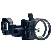"Apex Tundra Bone Collector Sight w/Light, Black, 4 Pin - .019"", RH/LH"