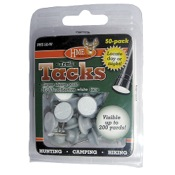 HME Reflective Tacks - Plastic, 50/pk., Grey