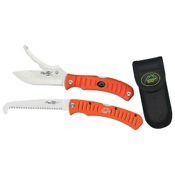 Outdoor Edge Flip n? Zip Combo, Orange, Knife/Saw