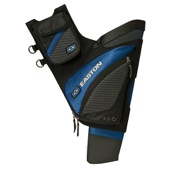 Easton Elite QH100 Hip Quiver, Blue, LH