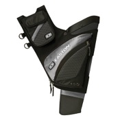 Easton Elite QH100 Hip Quiver, Silver, LH