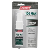 Coleman 100% Max Deet Insect Repellent, 1oz., Pump