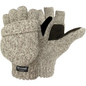 Jacob Ash Hot Shot Ragg Wool Insulated Glove/Mitten, One Size, Wool/Acrylic