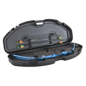 "Plano Ultra Compact Bow Case, 39.5""x11.5""x7"", Black, For shorter bows"