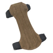 Mountain Man 2 Strap Non-Ventilated Leather Arm Guard, Suede