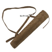 Mountain Man Suede Side/Back Quiver w/Hook, RH/LH