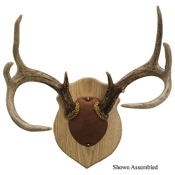 Walnut Hollow Antler Mounting Kit, Solid Oak