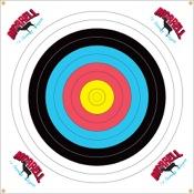 Morrell NASP 80cm Polypropylene Target Face, 80cm