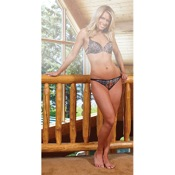 Weber Camo Bikini Pantie w/Charm, XL, BreakUp