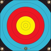 """Arrowmat Foam Rubber Target - Range-Pro 80, 17""""x17"""""""