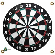 "Arrowmat Foam Rubber Target - XL Dartboard, 34""x34"""