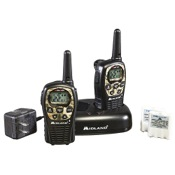 Midland LXT535VP3 2 Way Radio w/Batteries & Charger, 2/pk., MossyOak, 22 Chl, 24 mile