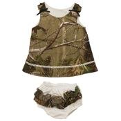 BCS Camo Dress w/Panty, 9mnths, APG