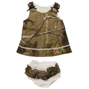 BCS Camo Dress w/Panty, 12mnths, APG