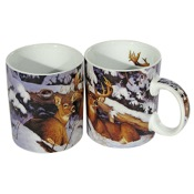 Reflective Art Porcelain Coffee Mug - Secret Place, 16oz.