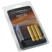 Stokerized Brass Weights, 3/pk., .75oz.ea