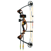 "High Five Scorcher Compound Bow Set, 16-25"" Draw Length, 16-29#, Camo, RH"