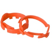 AXT Sight Ring for Carbon/Titanium Sights, Flo Orange, Carbon/Titanium