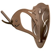 Skull Hooker Big Hooker European Mounting Bracket, Brown, Moose/Grizzly