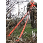 Heavy Hauler Deer Drag Harness, Orange