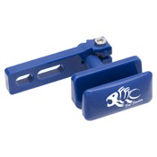 Fin-Finder Hydro-Glide Bowfishing Arrow Rest, Blue, RH/LH