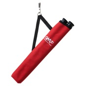 OMP 2 Tube Hip Quiver, Red, RH/LH