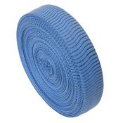 OMP VIBE String Silencers Bulk Roll, 1pr/pk., Blue/Black, 85? Bulk Roll