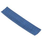 "OMP VIBE String Silencers, Blue/Black, 5"" Strips"