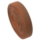 OMP VIBE String Silencers Bulk Roll, 1pr/pk., Brown/Orange, 85? Bulk Roll
