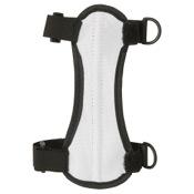 "OMP 2-Strap Armguard, 6.75"", White, 2 H&L Strap"