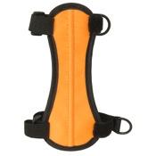 "OMP 2-Strap Armguard, 6.75"", Orange, 2 H&L Strap"