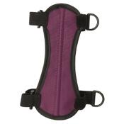 "OMP 2-Strap Armguard, 6.75"", Purple, 2 H&L Strap"