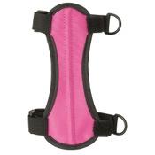 "OMP 2-Strap Armguard, 6.75"", Pink, 2 H&L Strap"
