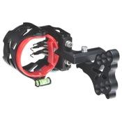 "AXT Headhunter Pro 50 Sight, Blackout, 5 Pin - .019"""