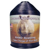 Brownell Rhino String Material, 1/4lb., Black, .015 Dia.