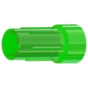 Gold Tip Crossbow Mag Nocks - Flat, 12/pk., Flo. Green