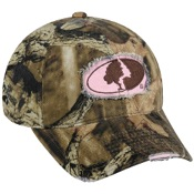 Outdoor Cap Pink Mossy Oak Patch Cap, One Size, Pink/Infinity
