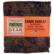 "Primos Camo Pre-Cut Burlap, 54""x12?, BreakUp"