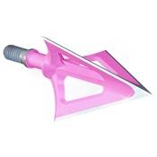 "G5 Montec Broadhead - Pink, 3/pk., 100gr., BH, 1 1/16"" Dia."