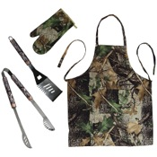 Rivers Edge 4pc. Camo Grill Set, Fall Transition